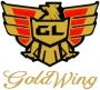 """1500 Logo mit Schriftzug """"Goldwing"""" vorne links"""
