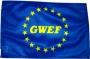 Bootsflagge EU - GWEF 30x45cm