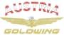 """1800 Logo"" mit Schriftzug ""Austria + Goldwing"""